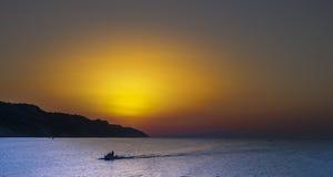 Colori di tramonto Fotografie Stock Libere da Diritti