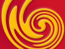 Colori di turbine Fotografia Stock