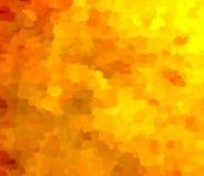 Colori di un fuoco tremulo di autunno dal focolare illustrazione vettoriale