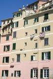 Colori di vecchia architettura mediterranea Immagine Stock Libera da Diritti
