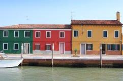 Colori di Venezia Fotografia Stock