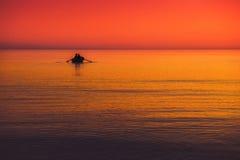 Colori di vista sul mare Immagine Stock Libera da Diritti