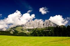 Colori e natura delle alpi austriache Fotografia Stock