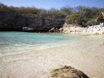 Colori e sabbia della spiaggia Immagine Stock