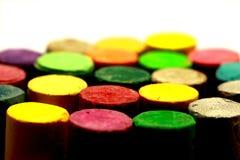 Colori i pastelli Immagini Stock
