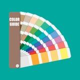 Colori il campione Guida della gamma di colori di colore Fotografia Stock