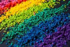 Colori il pigmento Fotografia Stock Libera da Diritti