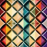 Colori il reticolo senza cuciture del mosaico Fotografia Stock
