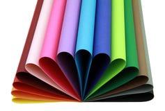 Colori la figura Fotografia Stock