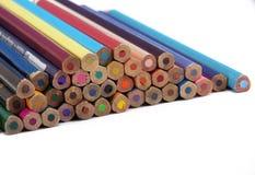 Colori la matita Fotografie Stock Libere da Diritti