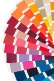 Colori la scheda Fotografia Stock Libera da Diritti