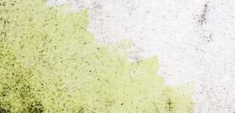 Colori la struttura reale del fondo della parete del cemento della macchia isolata su briciolo Immagini Stock Libere da Diritti
