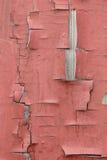 colori la vecchia vernice della rete fissa rossa Immagini Stock
