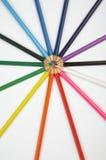 Colori le matite Fotografie Stock