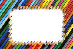 Colori le matite Fotografia Stock