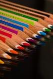 Colori le matite immagini stock libere da diritti