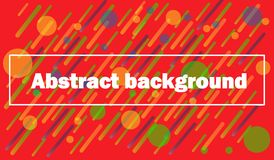 Colori luminosi del fondo geometrico e composizioni dinamiche in forma Illustrazioni di vettore illustrazione vettoriale