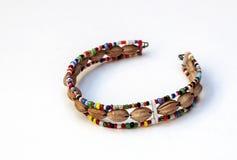 Colori masai del braccialetto Immagini Stock
