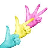 Colori multipli Immagine Stock