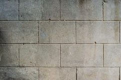 colori neutri del muro di cemento di struttura Fotografia Stock