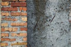 colori neutri del muro di cemento di struttura Fotografia Stock Libera da Diritti