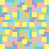 Colori pastelli del fondo di puzzle Fotografie Stock Libere da Diritti