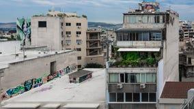 Colori piacevoli in una città sporca Fotografia Stock Libera da Diritti