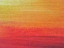 Colori rossi ed arancio del fondo di astrattismo Fotografie Stock