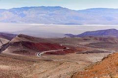 Colori vulcanici del padre Crowley Vista immagine stock