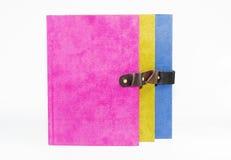 Colorido con el libro de la portada imágenes de archivo libres de regalías