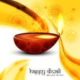 Colorido creativo de la lámpara hermosa del diwali