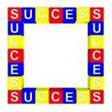 Colorido da caixa do sucesso Ilustração Stock