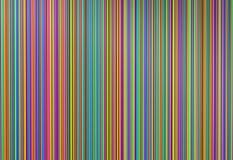 Colorido da linha linhas, ilustração 3d Fotografia de Stock