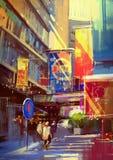 Colorido de edificios Foto de archivo libre de regalías