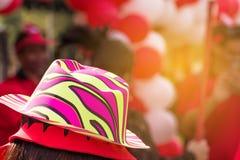 colorido de globos en festival del día del deporte adorne para el backgrou Foto de archivo libre de regalías