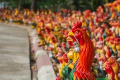Colorido de pollos imágenes de archivo libres de regalías