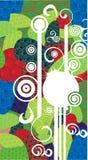 Colorido decorativo Imagens de Stock