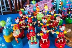 Colorido del juguete de madera Imagen de archivo libre de regalías
