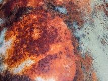 Colorido del metal oxidado Foto de archivo libre de regalías