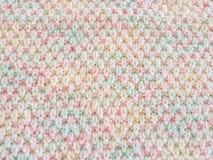 Colorido del suéter que hace punto Foto de archivo