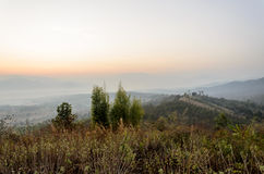Colorido do nascer do sol Fotografia de Stock Royalty Free