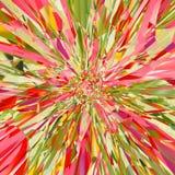 Colorido gire o projeto para a explosão do efeito do cartão ou da bandeira foto de stock