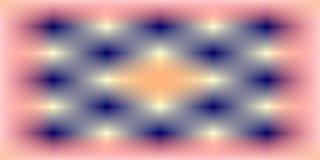 Colorido, lustroso, protegido e iluminado com imagem de fundo do efeito de 3 d e projeto gerados por computador do wallapaper ilustração do vetor