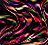 Colorido, ondulado e borrão com o efeito da luz gerado por computador para o fundo e o projeto do papel de parede ilustração do vetor