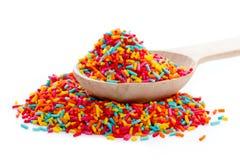 Colorido polvilha foto de stock