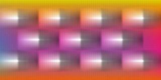 Colorido, protegido e 3 d com projeto gerado por computador da imagem de fundo do efeito luz ilustração do vetor