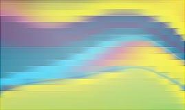 Colorido, protegido e 3 d com projeto gerado por computador da imagem de fundo do efeito luz ilustração royalty free