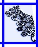 Colorido, protegido e iluminado com projeto gerado por computador da imagem de fundo do efeito de 3 d ilustração stock