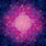 Colorido refrigere triângulos tonificados - fundo abstrato Fotos de Stock
