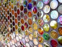 Colorido vibrante formado alrededor de fondo de los modelos Imagen de archivo